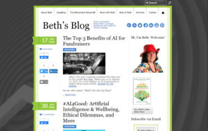 Beth's old website